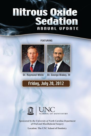 Friday, July 20, 2012 - UNC School of Dentistry - University of North ...