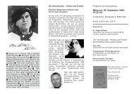 Info-Flyer zu Else Lasker-Schüler - Kölnische Gesellschaft für ...