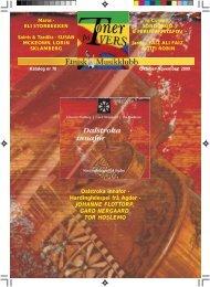Katalog nr 78 - Velkommen til Etnisk Musikklubb