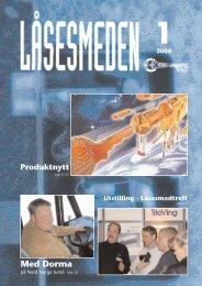 1 2004 Med Dorma - Foreningen Norske LÃ¥sesmeder