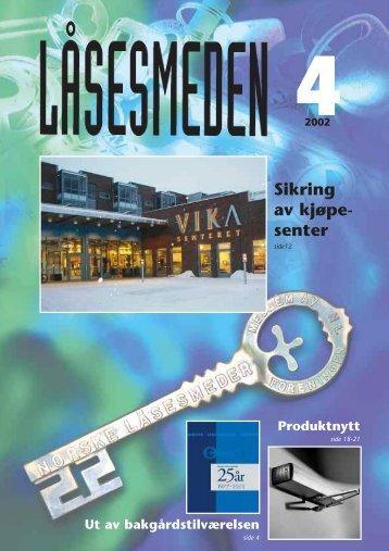 Sikring av kjøpe- senter - Foreningen Norske Låsesmeder