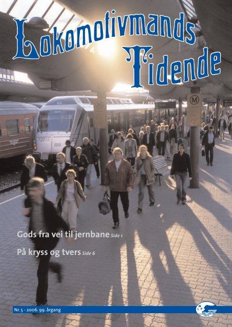 Les hele bladet i pdf-format - Norsk Lokomotivmannsforbund