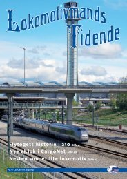 Lokomotivmands Tidende - Norsk Lokomotivmannsforbund
