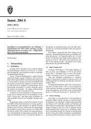 Innst. 284 S - Stortinget