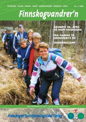 Nr. 1 2006 - Finnskogen Turistforening