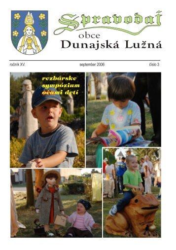 rezbárske sympózium očami detí - Obec Dunajská Lužná