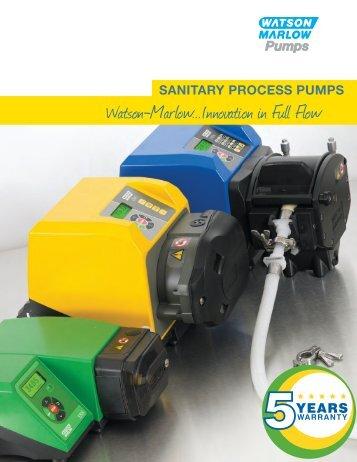 Sanitary Process Pumps (US)(PDF : 2000.8 KB) - Watson-Marlow