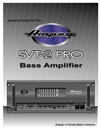 Bass Amplifier - Ampeg
