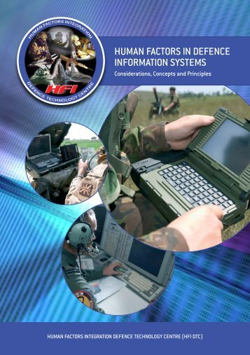 HUMAN FACTORS IN DEFENCE INFORMATION SYSTEMS