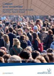 L'impact socio-économique des aéroports Paris ... - EntreVoisins.org