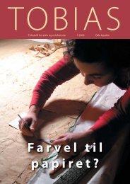 En rull med historie, i Tobias 1/2006. - Byarkivet