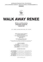 WALK AWAY RENEE - Wild Bunch