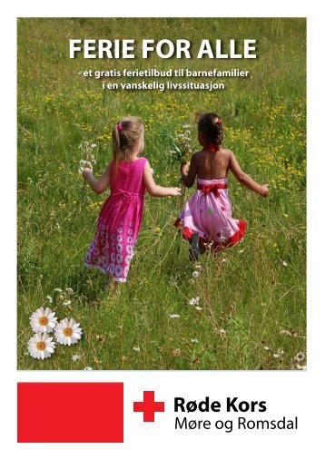 Brosjyre Ferie for alle - Røde Kors