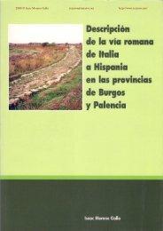 descripción de la vía romana de italia a hispania en las ... - Traianvs