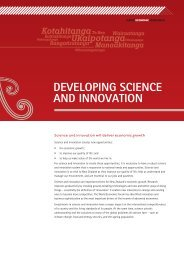 Developing Science and Innovation