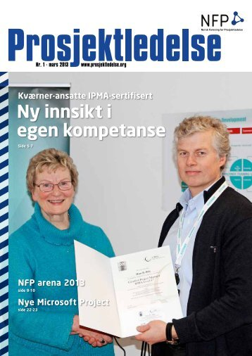 Ny innsikt i egen kompetanse - Norsk senter for prosjektledelse