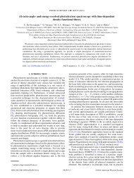 Ab initio angle- and energy-resolved photoelectron spectroscopy ...