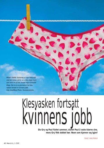 Klesvasken fortsatt kvinnens jobb.pdf