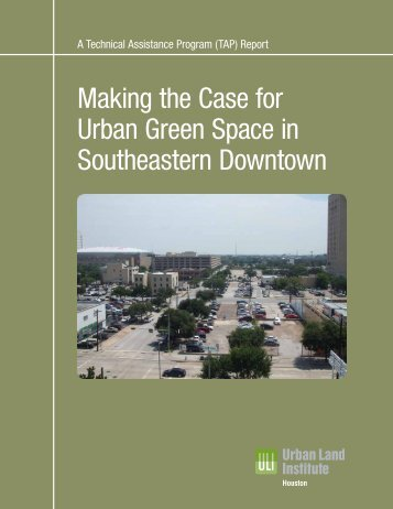 Making the Case for Urban Green Space in Southeastern Downtown