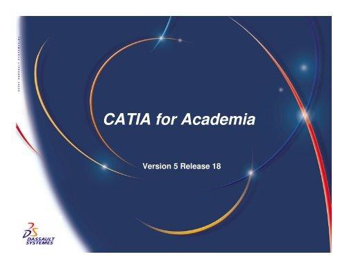 CATIA for Academia
