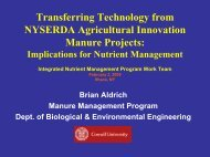 Transferring Technology from NYSERDA Agricultural Innovation ...