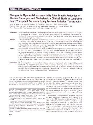 J Heart Lung Transplant 24_2022_2030_2005 - Prof. Dr. med. Dr ...