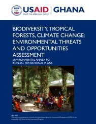 biodiversity, tropical forests, climate change - USAID: Africa Bureau ...