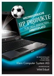 HP Produkte - Klein Computer System AG