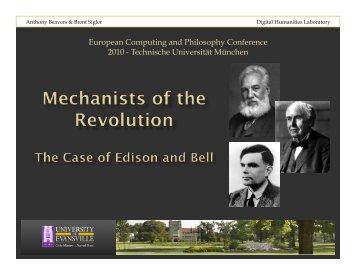 ECAP 2010.pptx - University of Evansville