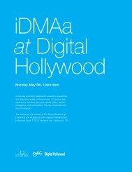 Monday, May 5th, 10am-5pm - Digital.Hollywood