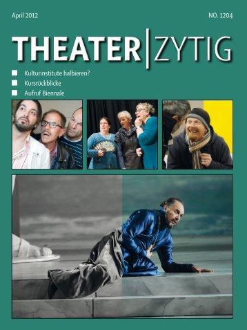 Ausgabe 1204.pdf - Theater-Zytig