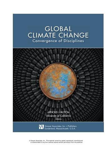 Global Climate Change - Sinauer Associates