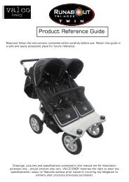 Product Reference Guide - Valco Baby