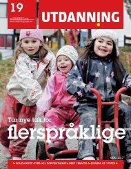 Utdanning nummer 19 2010 - Utdanningsnytt.no