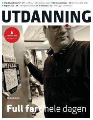 Utdanning nummer 06 2012 - Utdanningsnytt.no