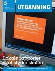 Utdanning nummer 05 2010 - Utdanningsnytt.no