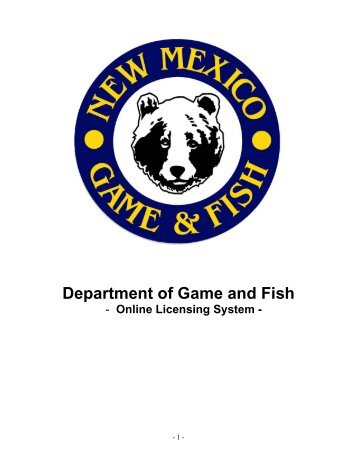 New customer account set up form microbe inotech for Nm game and fish