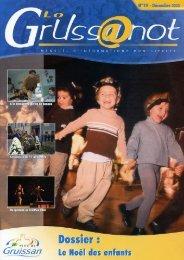 Lo Grussanòt Décembre 2003 PDF - 2.2 Mo - Gruissan