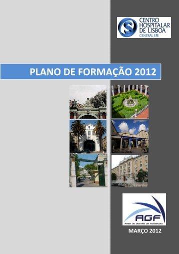 Plano de Formação 2012 - Centro Hospitalar de Lisboa Central