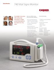 CAS 740 Vital Signs Monitor