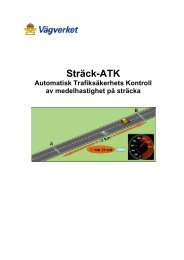 Sträck-ATK - Movea Trafikkonsult AB
