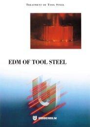 Uddeholm EDM of Tool Steel - Empire Die Casting