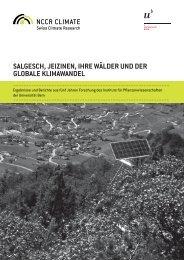 Salgesch, Jeizinen, ihre Wälder und der globale ... - NCCR Climate