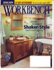 Shaker-Style Vanity - Wood Tools