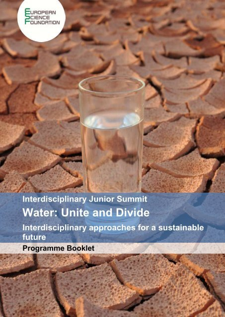 Water: Unite and Divide - Center for the Study of Interdisciplinarity
