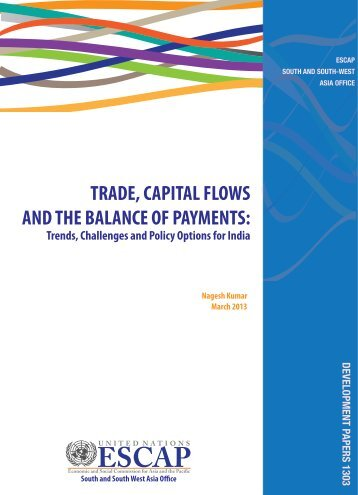 Trade, capital flows and the balance of payments - Subregional ...