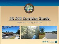 SR 200 Corridor Study - North Florida TPO