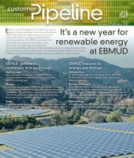Customer Pipeline - East Bay Municipal Utility District
