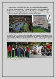 1 Elite Team beim 24. Internationalen Park Pokal 2009 im ...
