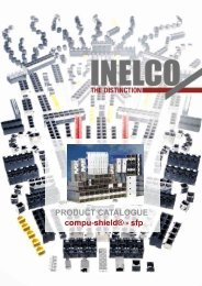 PRODUCT CATALOGUE compu-shield® - sfp - INELCO